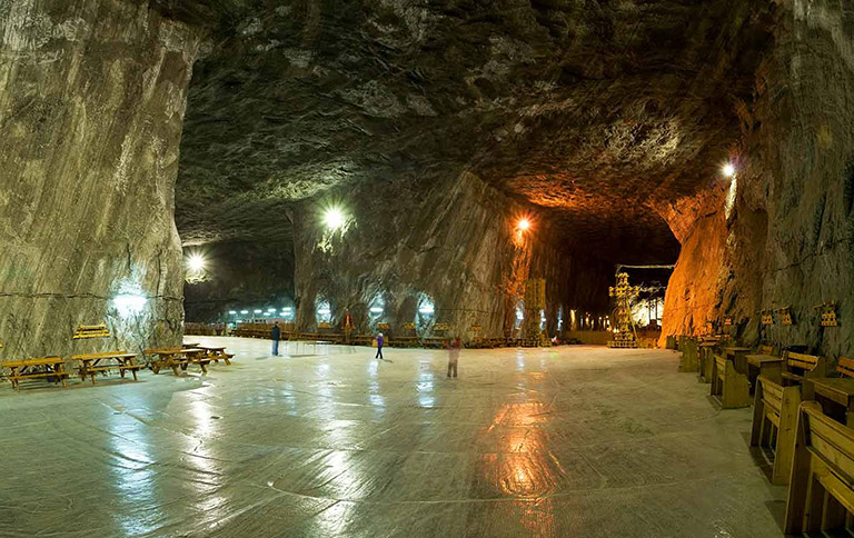 Salt mine, Praid